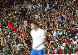 September 10, 2018 - Lisbon, Italy - Portugal v Italy - UEFA Nations League.The ola made by Portugal supporters at Estadio da Luz in Lisbon, Portugal on September 10, 2018. (Credit Image: © Matteo Ciambelli/NurPhoto/ZUMA Press)