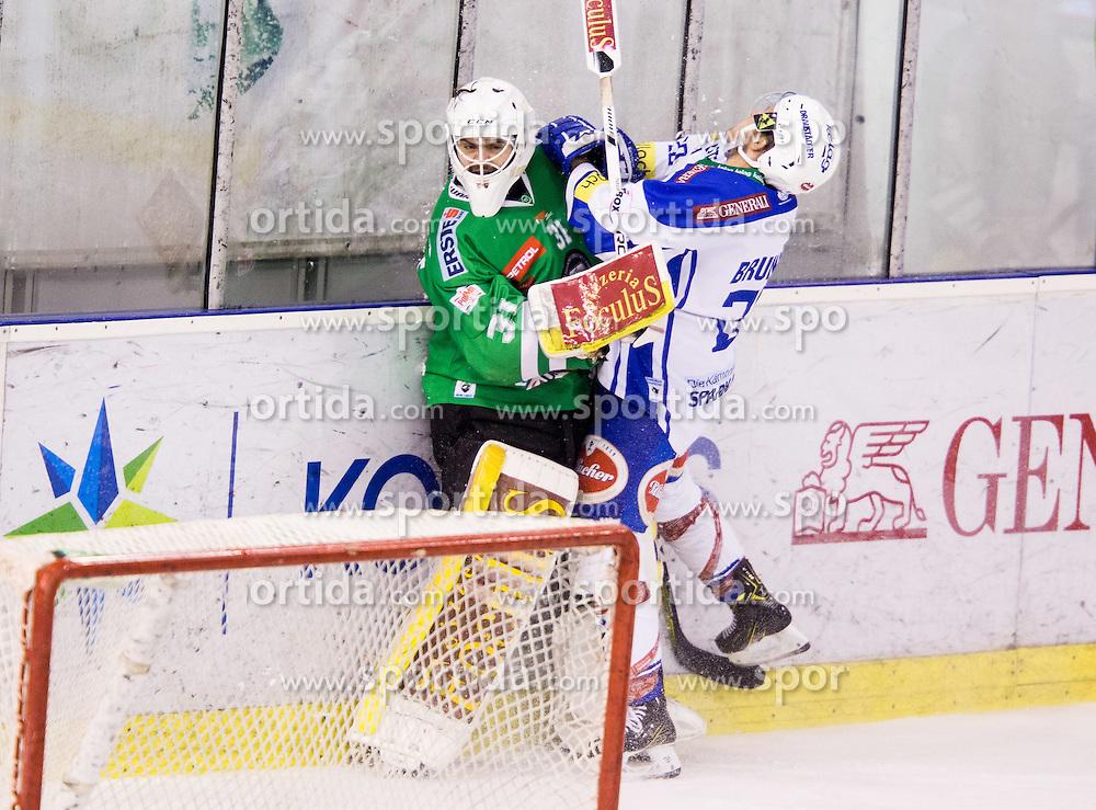 Jeff Frazee (HDD Olimpija), Nico Brunner (EC VSV)
