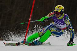 19.02.2011, Gudiberg, Garmisch Partenkirchen, GER, FIS Alpin Ski WM 2011, GAP, Herren, Slalom, im Bild Mitja Valencic (SLO) // Mitja Valencic (SLO) during Men's Slalom Fis Alpine Ski World Championships in Garmisch Partenkirchen, Germany on 20/2/2011. EXPA Pictures © 2011, PhotoCredit: EXPA/ M. Gunn
