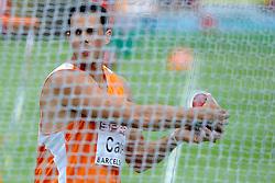 30-07-2010 ATLETIEK: EUROPEAN ATHLETICS CHAMPIONSHIPS: BARCELONA<br /> Erik Cadee heeft zich bij de EK atletiek in Barcelona ternauwernood geplaatst voor de finale van het discuswerpen<br /> ©2010-WWW.FOTOHOOGENDOORN.NL