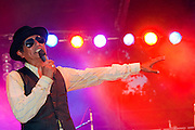 Papa Mali at Blues on the Green at Zilker Park, Austin Texas, July 7, 2010.
