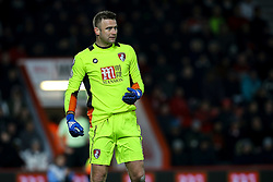 Artur Boruc of Bournemouth stands assessing the situation - Mandatory by-line: Jason Brown/JMP - 13/02/2017 - FOOTBALL - Vitality Stadium - Bournemouth, England - Bournemouth v Manchester City - Premier League