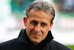 12.02.2010, Volkswagen Arena, Wolfsburg, GER, 1.FBL, VfL Wolfsburg vs Hamburger SV, im Bild Pierre Littbarski (Chef-Trainer Wolfsburg) EXPA Pictures © 2011, PhotoCredit: EXPA/ nph/  Schrader       ****** out of GER / SWE / CRO  / BEL ******