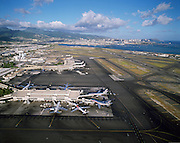 Honolulu International Airport, Honolulu, Hawaii, USA<br />