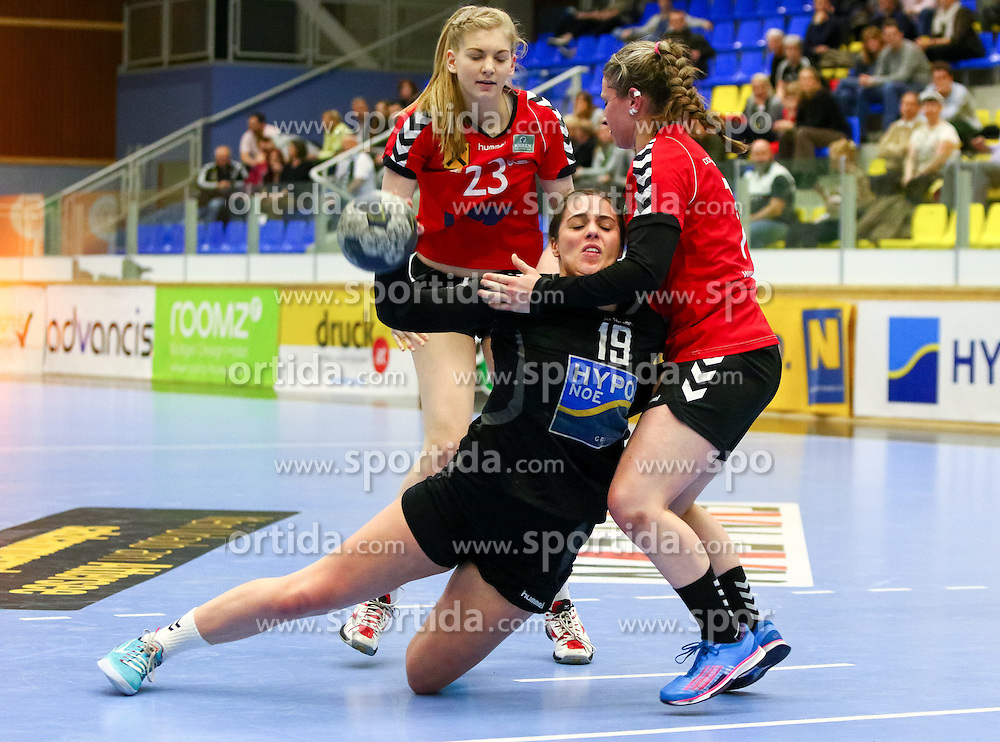28.03.2015, BSFZ Suedstadt, Maria Enzersdorf, AUT, ÖHB Cup, Finale Frauen, Hypo NÖ vs SSV Dornbirn Schoren, im Bild Josefine Huber (Hypo NÖ)// during the ÖHB Cup women's finale Match between Hypo NÖ and SSV Dornbirn Schoren at the BSFZ Suedstadt, Maria Enzersdorf, Austria on 2015/03/28, EXPA Pictures © 2015, PhotoCredit: EXPA/ Sebastian Pucher