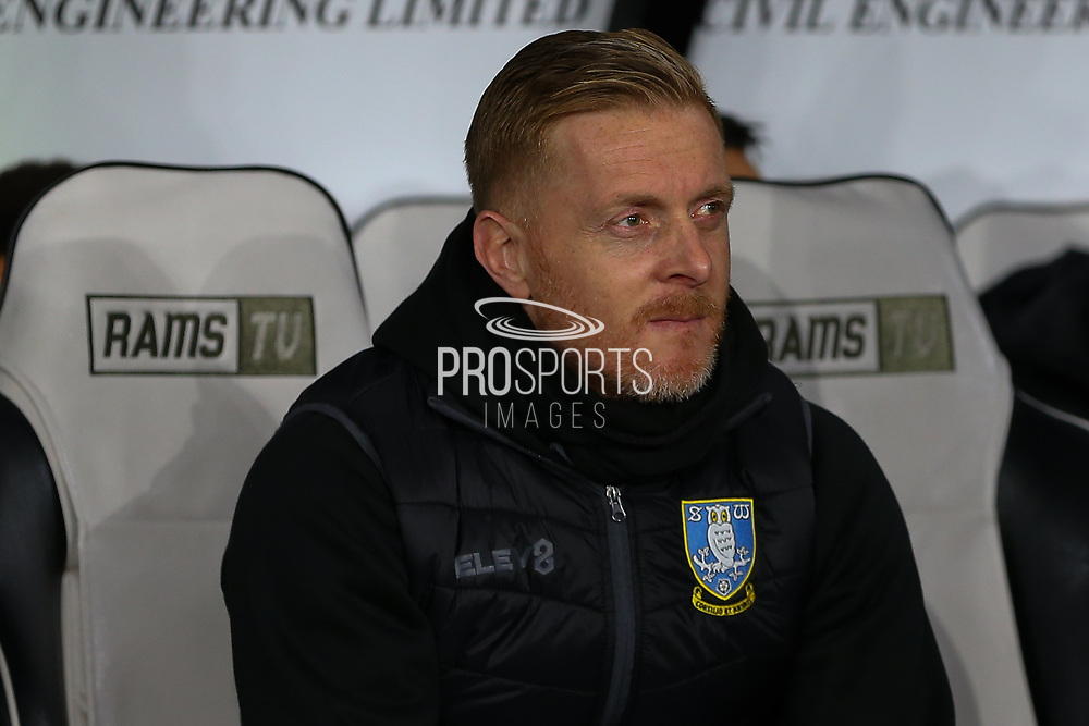 Sheffield Wednesday Manager Garry Monk during the EFL Sky Bet Championship match between Derby County and Sheffield Wednesday at the Pride Park, Derby, England on 11 December 2019.