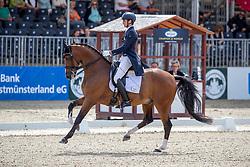 MATUTE GUIMON Juan Pablo (ESP), Quantico<br /> Münster - Turnier der Sieger 2019<br /> PRIZE OF KAPPEL HIBERNIA GmbH & Co.KG<br /> Grand Prix de Dressage <br />  Wertung zu MEGGLE Champion of Honour <br /> 01. August 2019<br /> © www.sportfotos-lafrentz.de/Stefan Lafrentz