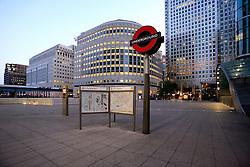 UNITED KINGDOM LONDON 24MAY09 - Canary Wharf area of the London Docklands during the early morning hours...jre/Photo by Jiri Rezac..© Jiri Rezac 2009