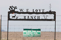 W. E. Love Ranch, West Texas.