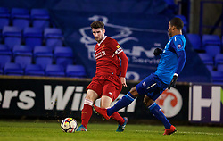 BIRKENHEAD, ENGLAND - Tuesday, December 19, 2017: Liverpool's captain Cory Whelan during the Under-23 FA Premier League International Cup Group A match between Liverpool and PSV Eindhoven at Prenton Park. (Pic by David Rawcliffe/Propaganda)