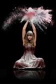 Flour Dancing Photoshoot