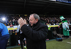 Yeovil Town Manager, Gary Johnson  - Photo mandatory by-line: Joe meredith/JMP - Mobile: 07966 386802 - 04/01/2015 - SPORT - football - Yeovil - Huish Park - Yeovil Town v Manchester United - FA Cup - Third Round