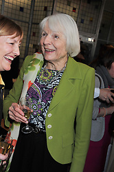VISCOUNTESS NORWICH at a ladies lunch in support of Maggie's Barts hosted by Judy Naake, Clara Weatherall and Caroline Collins at Le Cafe Anglais, 8 Porchester Gardens, London W2 on 19th March 2013.