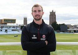 Somerset's Alex Barrow poses for a picture. - Mandatory byline: Alex Davidson/JMP - 25/02/2016 - CRICKET - The Cooper Associates County Ground -Taunton,England - Somerset CCC  Media access - Pre-Season