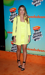 March 23, 2019 - Los Angeles, CA, USA - LOS ANGELES, CA - MARCH 23: Vale Genta attends Nickelodeon's 2019 Kids' Choice Awards at Galen Center on March 23, 2019 in Los Angeles, California. Photo: CraSH for imageSPACE (Credit Image: © Imagespace via ZUMA Wire)
