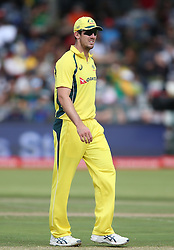 Mitchell Marsh of Austrailia during the 5th ODI match between South Africa and Australia held at Newlands Stadium in Cape Town, South Africa on the 12th October  2016<br /> <br /> Photo by: Shaun Roy/ RealTime Images