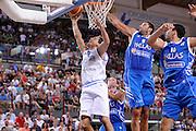RIMINI 14 AGOSTO 2011<br /> BASKET <br /> TORNEO CITTA DI RIMINI TROFEO TASSONI<br /> ITALIA GRECIA<br /> NELLA FOTO MORDENTE<br /> FOTO CIAMILLO