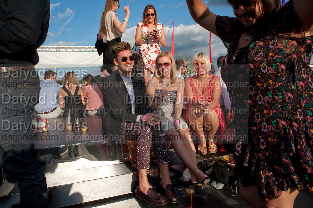 HENRY HOLLAND, After party at China White's club. Cartier International Day at Guard Polo Club, Windsor Great Park. 24 July 2011. ChinaWhite Tent during Cartier Polo. <br /> <br />  , -DO NOT ARCHIVE-© Copyright Photograph by Dafydd Jones. 248 Clapham Rd. London SW9 0PZ. Tel 0207 820 0771. www.dafjones.com.