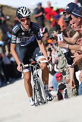 25/05/2010 Etape 16 - 93° GIRO D'ITALIA - Tour d'Italie - Contre la montre individuelle 12,9 km. San Vigilio Di Marebbe - Plan De Corones, Italy. .© Photo Pierre Teyssot / Sportida.com.DIDIER Laurent LUX SAX during the time trial, 16th stage on 25/05/2010, 2010 in Plan de Corones, Kron Platz, Italy.