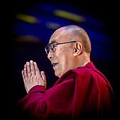 Z.H. de Dalai Lama in Ahoy Rotterdam the Netherlands