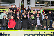 Cardiff University visit during the EFL Sky Bet League 2 match between Forest Green Rovers and Notts County at the New Lawn, Forest Green, United Kingdom on 9 February 2019.