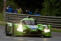 Tracy Krohn (USA) / Niclas Jonsson (SWE) / Joao Barbosa (PRT)  #40 Krohn Racing  Ligier JS P2 Nissan,  during Le Mans 24 Hr June 2016 at Circuit de la Sarthe, Le Mans, Pays de la Loire, France. June 16 2016. World Copyright Peter Taylor/PSP. Copy of publication required for printed pictures.  Every used picture is fee-liable. http://archive.petertaylor-photographic.co.uk