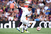Arthur Melo of FC Barcelona during the Joan Gamper trophy game between FC Barcelona and CA Boca Juniors in Camp Nou Stadium at Barcelona, on 15 of August of 2018, Spain, Photo Pressinphoto / Pro Shots / ProSportsImages / DPPI