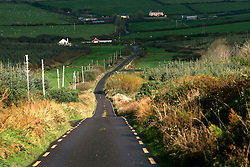 IRELAND KERRY INCH 4NOV05 - Road from Inch to Anascaul near Inch Strand on the Dingle Peninsula, Irelands most westerly county...jre/Photo by Jiri Rezac..© Jiri Rezac 2005..Contact: +44 (0) 7050 110 417.Mobile: +44 (0) 7801 337 683.Office: +44 (0) 20 8968 9635..Email: jiri@jirirezac.com.Web: www.jirirezac.com..© All images Jiri Rezac 2005 - All rights reserved.