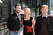 More than 300 Irish entrepreneurs, innovators and ideas people came together in NUI, Galway for the West's first ever Bizcamp, where hundreds of connections and business ideas were explored making it one the most successful recession-rebounding events to be held in Galway this year. Eric Hennelly Flanagan , WICCLE, Teresa Rock , Elm Tree Clinic   Keith Kililea Wiccle , attended the BIZCAMP. Photo:Andrew Downes