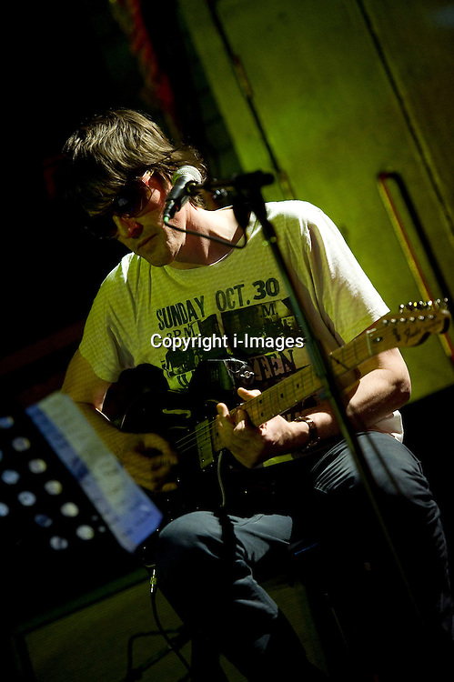 Spiritualized frontman Jason Pierce at the Cambridge Junction on Friday night, November 2, 2012. Photo by i-Images.
