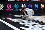 Hayes Kevarrius<br /> A X Armani Exchange Olimpia Milano - Pallacanestro Cantu<br /> Basket Serie A LBA 2019/2020<br /> Milano 05 January 2020<br /> Foto Mattia Ozbot / Ciamillo-Castoria