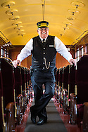 Cliff Baumer, Volunteer Motorman | Western Railway Museum | April 16, 2014