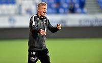 Fotball , 02. juli 2020 , Eliteserien  ,  Sarpsborg - Brann<br /> trener Lars Arne Nilsen , Brann