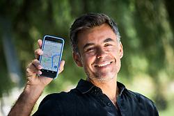 Portrait of Marko Pignataro working at Google Maps in London, on July 17, 2017 in Ljubljana, Slovenia. Photo by Vid Ponikvar / Sportida