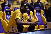 Mbakwe Trevor<br /> FIAT Torino - Betaland Capo d'Orlando<br /> Lega Basket Serie A 2017-2018<br /> Torino 04/03/2018<br /> Foto M.Matta/Ciamillo & Castoria
