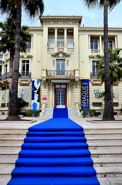 La Malmaison Art Museum in Cannes, France <br />