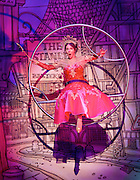 Dick Whittington <br /> at New Wimbledon Theatre, Wimbledon, London, Great Britain <br /> rehearsal <br /> 8th December 2016 <br /> <br /> <br /> <br /> <br /> Arlene Phillips as Fairy Bowbells <br /> <br /> <br /> <br /> <br /> Photograph by Elliott Franks <br /> Image licensed to Elliott Franks Photography Services