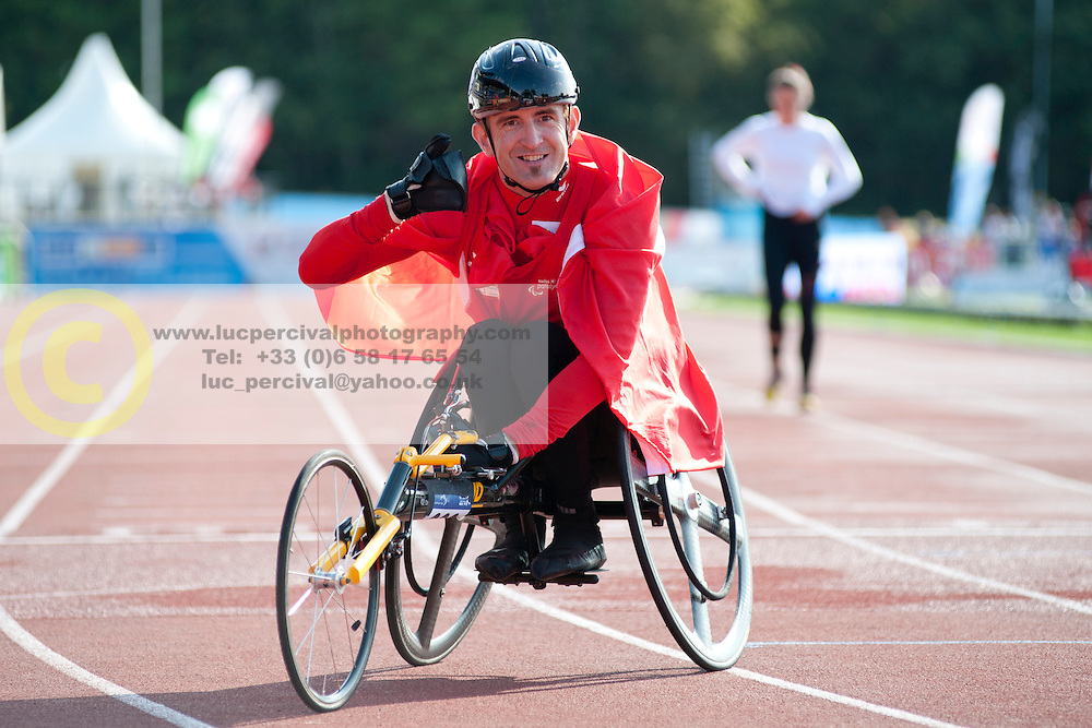 Beat Bosch, 2014 IPC European Athletics Championships, Swansea, Wales, United Kingdom