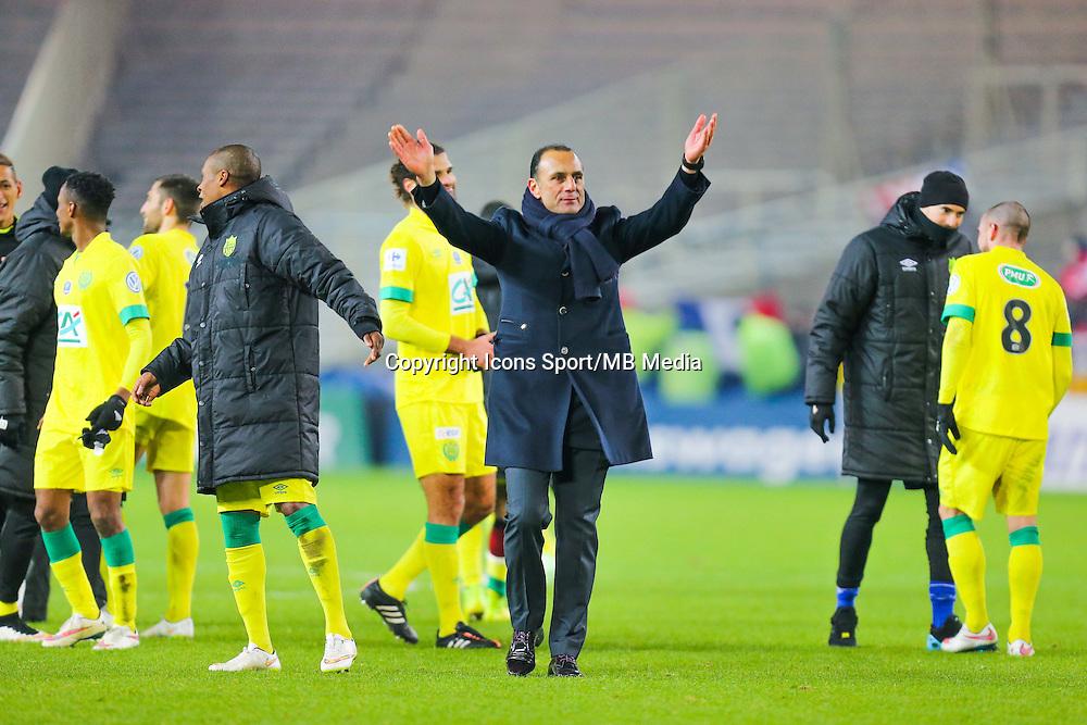 Joie Michel DER ZAKARIAN  - 20.01.2015 - Nantes / Lyon  - Coupe de France 2014/2015<br /> Photo : Vincent Michel / Icon Sport