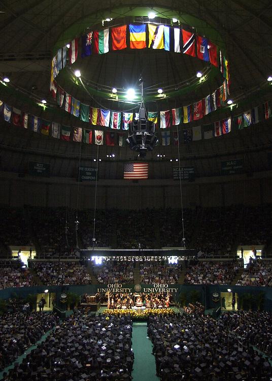 Undergraduate Commencement 2003 : Martin Savidge Speaking