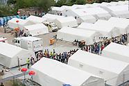 Refugee camp in Dresden, 27.07.15