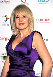 © under license to London News Pictures. 04/03/11.Nicki Chapman attends  Lebara British Asian Sports Awards , Saturday 5th March 2011 at the Grosvenor House Hotel, Park Lane, London. Photo credit should read alan roxborough/LNP