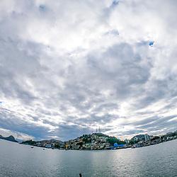 Vitória (cidade) fotografado(a) em Vitória, capital do Espírito Santo, Sudeste do Brasil. Oceano Atlântico. Registro feito em 2019.<br /> ⠀<br /> ⠀<br /> <br /> <br /> <br /> <br /> ENGLISH: Vitória-ES city photographed in Vitória, Capital of Espírito Santo - Southeast of Brazil. Atlantic Ocean. Picture made in 2019.