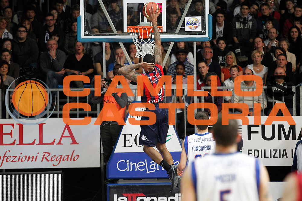 DESCRIZIONE : Cantu Campionato Lega A 2011-12 Bennet Cantu Angelico Biella<br /> GIOCATORE : Aubrey Coleman<br /> CATEGORIA : Schiacciata<br /> SQUADRA : Angelico Biella<br /> EVENTO : Campionato Lega A 2011-2012<br /> GARA : Bennet Cantu Angelico Biella<br /> DATA : 08/01/2012<br /> SPORT : Pallacanestro<br /> AUTORE : Agenzia Ciamillo-Castoria/G.Cottini<br /> Galleria : Lega Basket A 2011-2012<br /> Fotonotizia : Cantu Campionato Lega A 2011-12 Bennet Cantu Angelico Biella<br /> Predefinita :