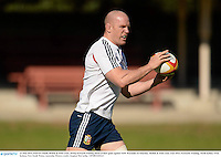 13 June 2013; Paul O'Connell, British & Irish Lions, during forwards training ahead of their game against NSW Waratahs on Saturday. British & Irish Lions Tour 2013, Forwards Training, North Sydney Oval, Sydney, New South Wales, Australia. Picture credit: Stephen McCarthy / SPORTSFILE