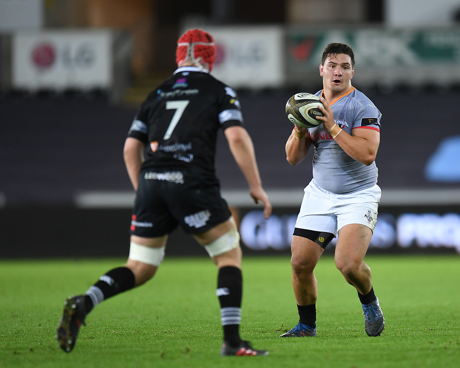 Southern Kings' Michael Willemse<br /> <br /> Photographer Mike Jones/Replay Images<br /> <br /> Guinness PRO14 Round Round 15 - Ospreys v Southern Kings - Friday 16th February 2018 - Liberty Stadium - Swansea<br /> <br /> World Copyright © Replay Images . All rights reserved. info@replayimages.co.uk - http://replayimages.co.uk
