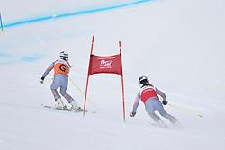 FARKASOVA Henrieta Guide: SUBRTOVA Natalia, B3, SVK at 2018 World Para Alpine Skiing Cup, Kranjska Gora, Slovenia