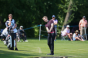 Dan Walker during the Celebrity Pro-Am day at Wentworth Club, Virginia Water, United Kingdom on 23 May 2018. Picture by Phil Duncan.