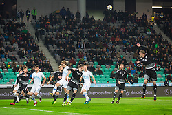 SRC Stozice with spectators during friendly football match between National teams of Slovenia and Belarus, on March 27, 2018 in SRC Stozice, Ljubljana, Slovenia. Photo by Vid Ponikvar / Sportida