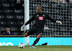 Derby County's Lee Grant - Mandatory by-line: Robbie Stephenson/JMP - 07966386802 - 29/07/2015 - SPORT - FOOTBALL - Derby,England - iPro Stadium - Derby County v Villarreal CF - Pre-Season Friendly